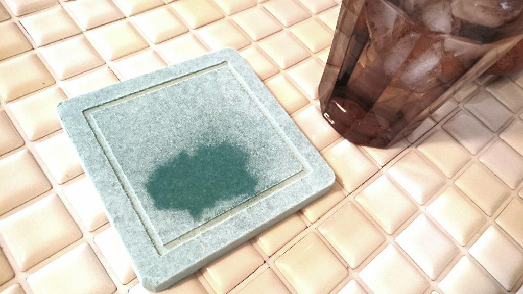 3COINS珪藻土コースター