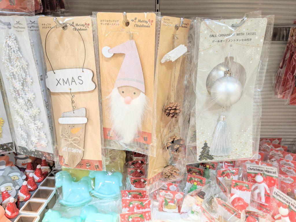 100均セリアクリスマス雑貨